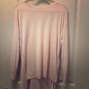Blush Spring sweater - Perfect with white jeans!